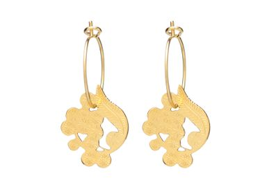 Jewelry - Mimosa Mini Hoop Earrings - JOUR DE MISTRAL