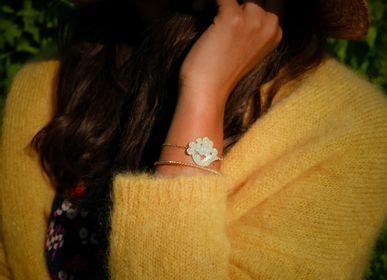 Bijoux - Bracelet médaille Mimosa - JOUR DE MISTRAL