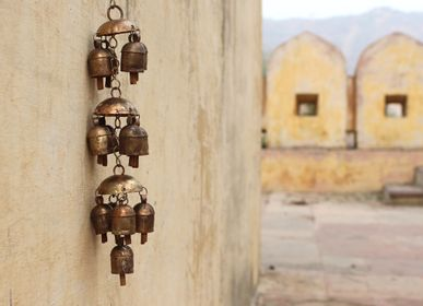 Decorative objects - Handmade cow bell instrument Windchimes - DE KULTURE WORKS