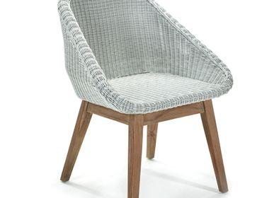 Chairs - AF373 - Hélène dining chair  - MAISON PEDERREY / TONI VAN PARIJS