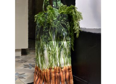 Bags / totes - Vegetable bag - Carrots bag - MARON BOUILLIE