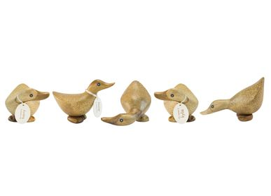 Decorative objects - Natural Finish Duckys - DCUK