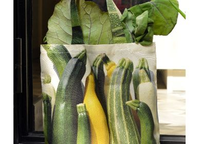 Bags / totes - Vegetable bag - Zucchini bag - MARON BOUILLIE