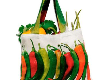 Bags / totes - Vegetable bag - Pepper bag - MARON BOUILLIE