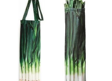 Homewear - Vegetable bag - Leeks bag - MARON BOUILLIE