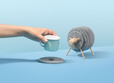 Gift - Sheepad. Collects felt table coasters. - WELLDONE® DOBRE RZECZY