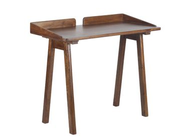 Desks - Becket desk dark mango - CHEHOMA