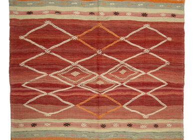 Classic - SEMI-OLD TURKISH KILIM - OLDNEWRUG