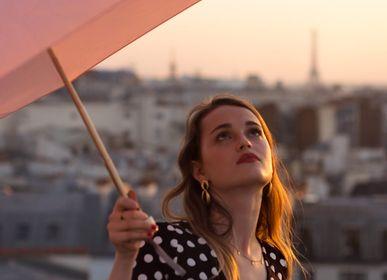 Accessoire de voyage / valise - Micro-parapluie - Rose poudré - MADELEINE - ANATOLE
