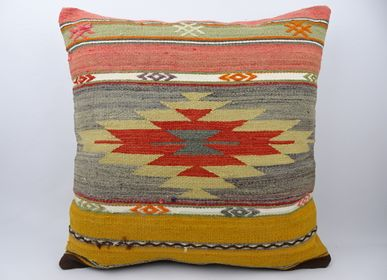 Cushions - KILIM CUSHION COVER - OLDNEWRUG