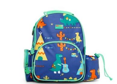 Sacs / cartables - SAC A DOS MEDIUM DINO ROCK - PENNY SCALLAN