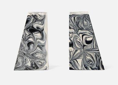 Objets de décoration - Agnus Bookends - Black/White - MADE GOODS