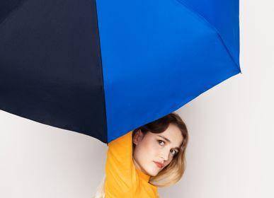 Gifts - Bicolour micro-umbrella - royal blue & navy - Victoire - ANATOLE