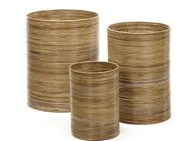 Decorative objects - AF431 - Cylinder shaped ring basket set/3 - MAISON PEDERREY / TONI VAN PARIJS