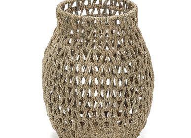 Decorative objects - AF399 - Open weaved basket - MAISON PEDERREY / TONI VAN PARIJS