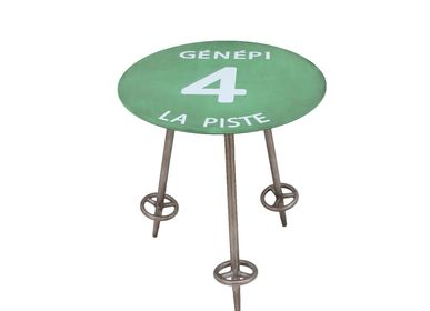 Tables basses - Collection tables d'appoint ski - CHEHOMA