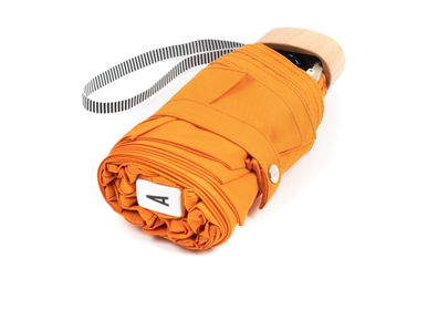 Travel accessories / suitcase - Micro-umbrella - Orange - AUGUSTE - ANATOLE