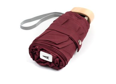 Travel accessories / suitcase - Micro-umbrella - Burgundy - GERMAIN - ANATOLE