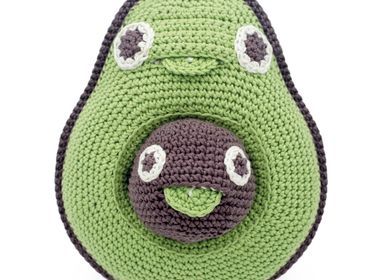 Gifts - MOMMY AVOCADO AND HER BABY SEED - MUSIC BOX 100% ORGANIC COTTON - MYUM - THE VEGGY TOYS