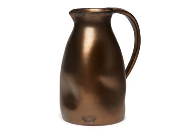 Ceramic - Carafe - Dented Jug - DUTCHDELUXES