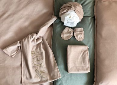 Kids accessories - Mini Turban+mittens+swaddle set-Mimo Accessories new born Bekume - BEKUME