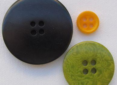 Prêt-à-porter - Boutons ronds en corozo. Ivoire végétal ou Tagua - TIERRATAGUA & CREATIERRA