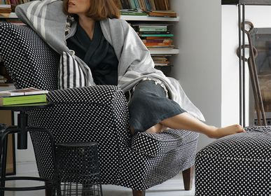 Outdoor fabrics - BAL THROW/THROW BLANKET - DESIGNDEM