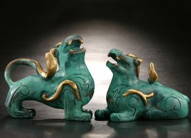 Sculptures, statuettes and miniatures - Plentiful (Pi-Xiu) Sculpture - GALLERY CHUAN