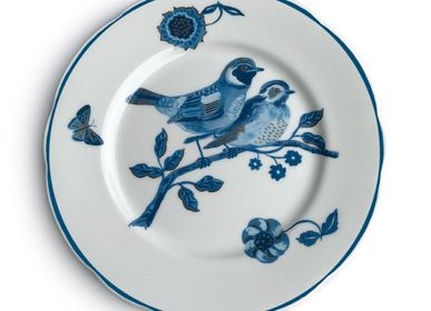 Assiettes au quotidien - The Blue Story - Assiettes en céramique - AVENIDA HOME
