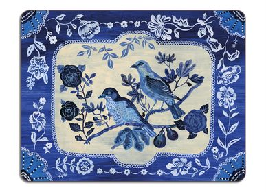 Dessous de plat - The Blue Story - Tapis de table et set de table - AVENIDA HOME
