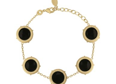 Bijoux - Bracelet VALENTINA Noir - COLLECTION CONSTANCE