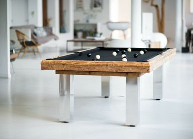 Objets design - Billard table Megève - BILLARDS ET BABY-FOOT TOULET