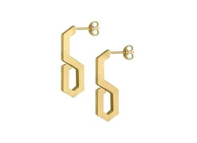 Jewelry - Hexagon H8 Earrings - INSOLITE JOAILLERIE