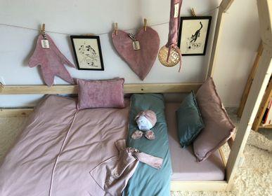 Linge de lit enfant - Parure housse de couette - Parure housse de couette enfant BICOLOR - BEKUME