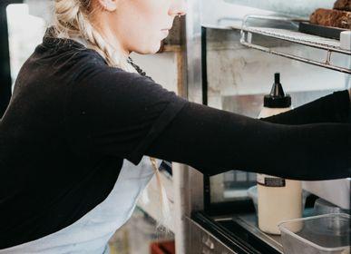 Tabliers de cuisine - Tablier Belfast  - Éther - STOKER MILLS IRISH LINEN