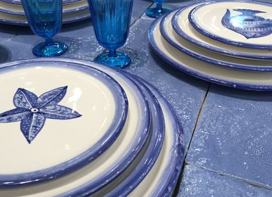 Assiettes au quotidien - Mare | Hand Painted | Made in Italy - ARCUCCI TRADE SRL