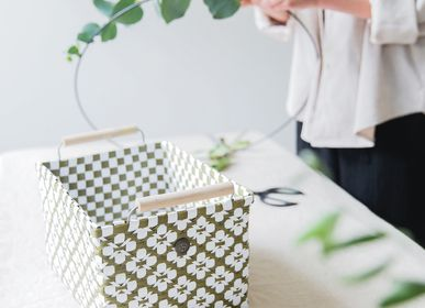 Decorative objects - MOTIF  - Baskets - HANDED BY