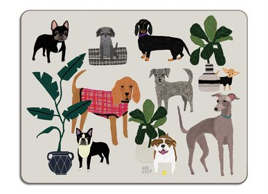 Table mat - Cats and Dogs - Table Mats - AVENIDA HOME