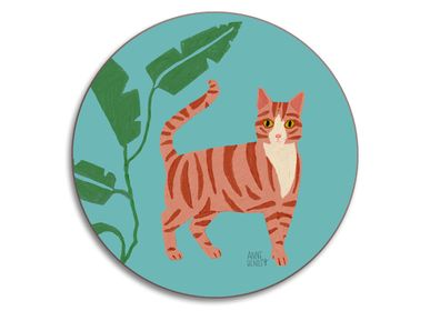 Tea and coffee accessories - Cats and Dogs - Coasters  - AVENIDA HOME
