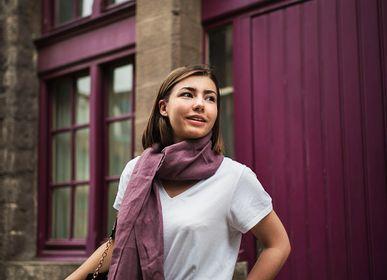 Scarves - 100% linen scarf - LEMAITRE DEMEESTERE