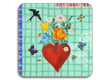 Tea / coffee accessories - Mon Coeur - Coasters - AVENIDA HOME