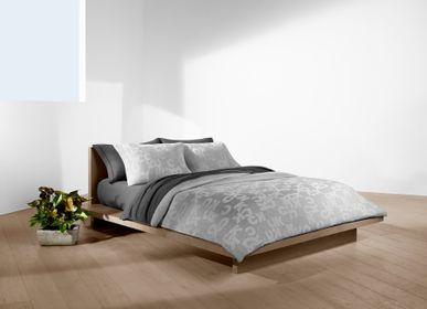 Bed linens - Monogram Heather Grey / Duvet Set - CALVIN KLEIN