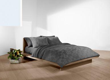 Linge de lit - Monogram Charcoal / Parure de lit en jacquard, modal, polyester et spandex - CALVIN KLEIN