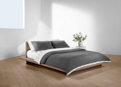 Bed linens - Classic Logo Charcoal / Duvet Set - CALVIN KLEIN