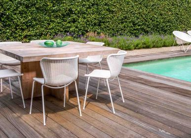 Chairs - C603 chair white/white* outdoor | chairs - FEELGOOD DESIGNS