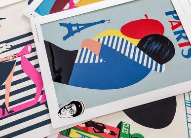 Affiches - Paris avec Paul Thurlby - SERGEANT PAPER
