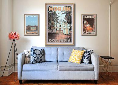 """Affiches - Affiche Vintage Inde - Collection de posters """"Le Parfum de l'Inde"""" - MY RETRO POSTER"""