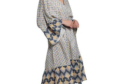 Homewear - DRESSING GOWN HOMEWEAR COTTON ELEGANT  - LALAY