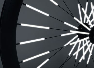 Design objects - Reflectors for bicycle spokes - RAINETTE