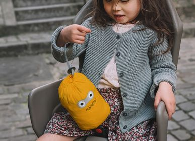Children's fashion - Raincoat for Bicycle Seat Frog - RAINETTE